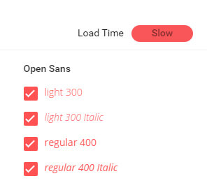 New page load metric