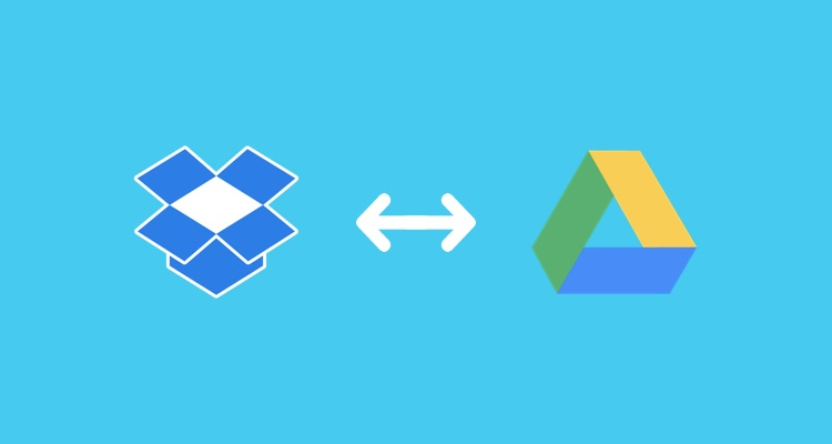 Google Drive to Dropbox workflow