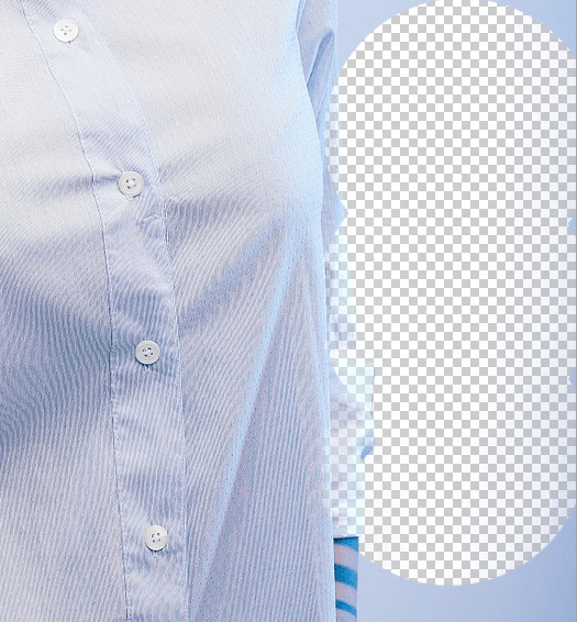 Manually retouching challenging areas