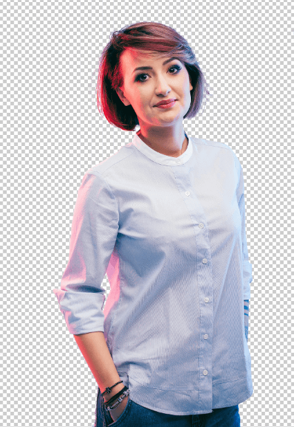 Finished background removal