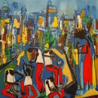 Painting: Easton Davy — Jazz Museum Rotterdam