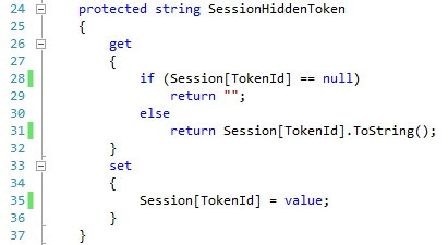 using the TokenId property