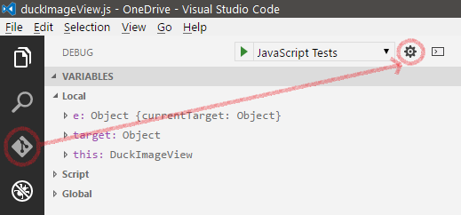 Debugging in Visual Studio Code