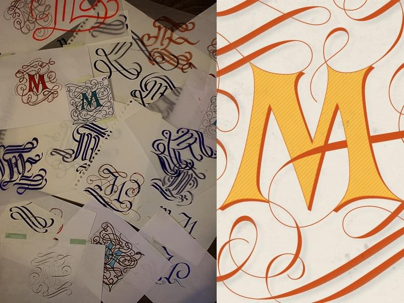 Claire Coullon Lettering Work