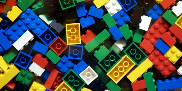 Lego blocks, perhaps the most immutable object in the known universe