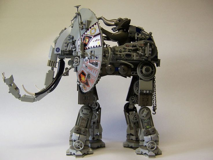 A robot elephpant